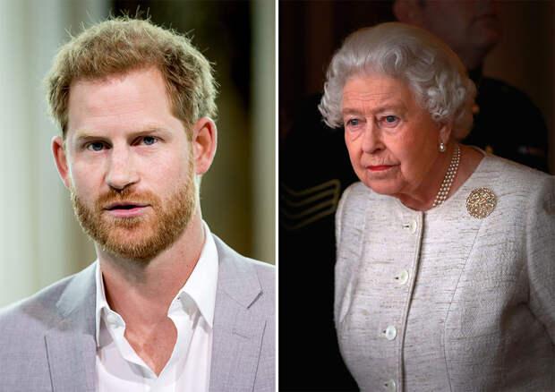 Елизавета II обсудит с принцем Гарри интервью Опре Уинфри