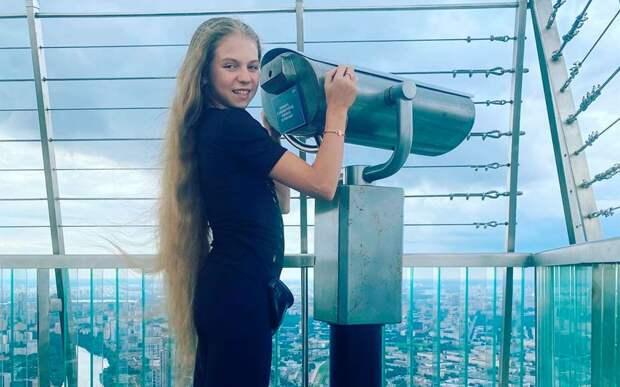 Трусова посетила самую высокую смотровую площадку в Европе: фото