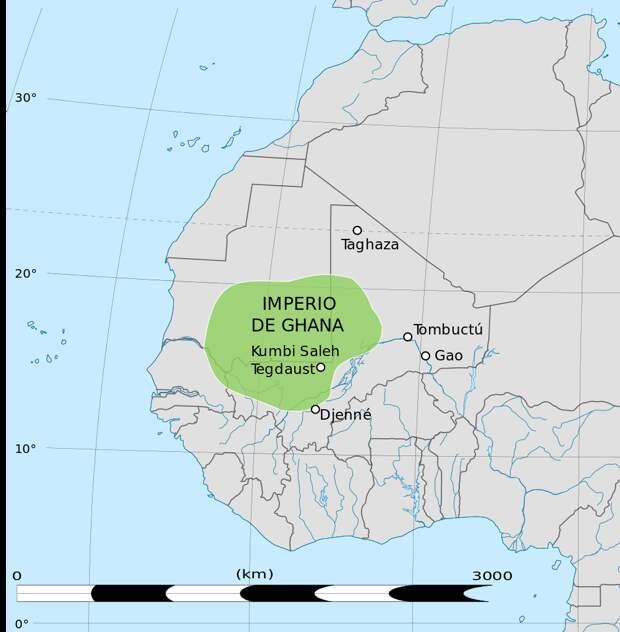 Древние, могущественны, но малоизвестные африканские империи