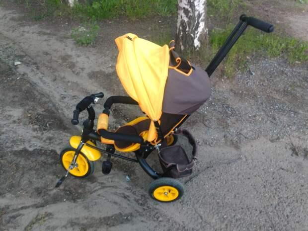 В Сарапуле сбили 2-летнего мальчика на трехколесном велосипеде