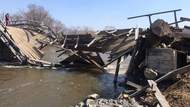 После падения в реку автомобиля в Приморье возбудили уголовное дело