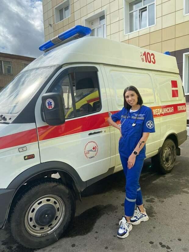 В Томске напали на фельдшера скорой помощи