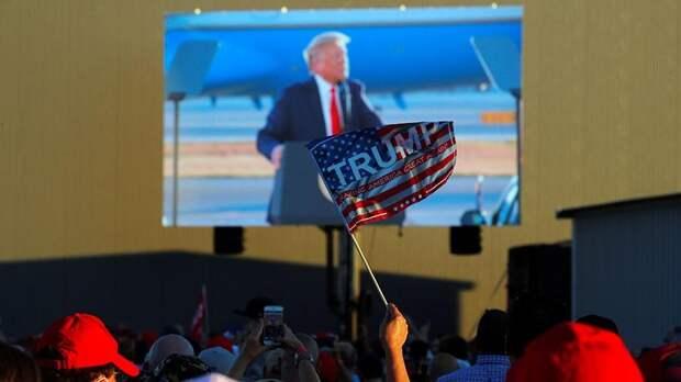 По числу зрителей программной речи Трамп незначительно уступил Байдену