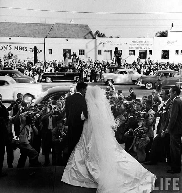 Первая свадьба Элизабет Тейлор (18 фотографий), photo:11