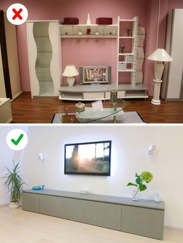 10 фишек дизайна квартиры, которые беспощадно устарели