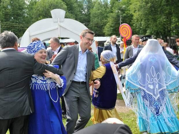 В Удмуртии прошёл республиканский татарский национальный праздник «Сабантуй»