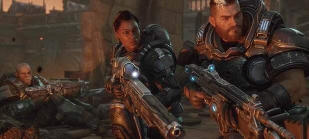 Шестерёнки в стиле XCOM - в демонстрации Gears Tactics показали сражение с саранчой и прокачку