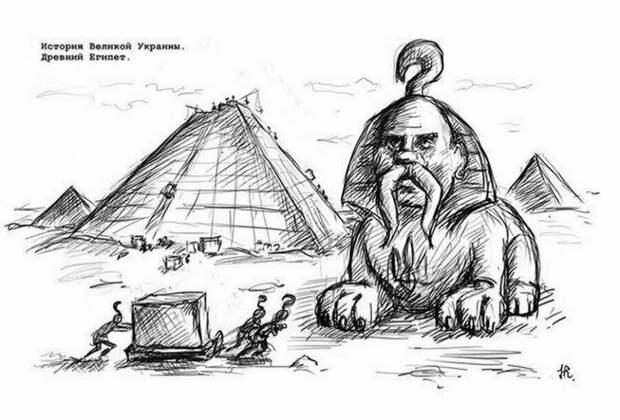 Архитектурные изыски древних славян и причем здесь киргизы и казахи.