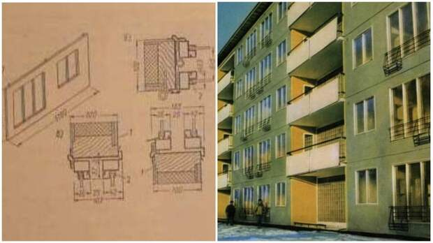 Теплозащитные характеристики домов из пластмассовых панелей были значительно выше, чем у бетонных / Фото: anothercity.livejournal.com/