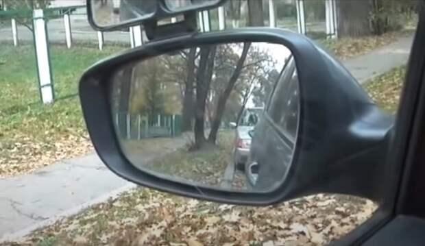 Простой способ параллельной парковки левой стороной по ориентирам. Алгоритм от автоинструктора