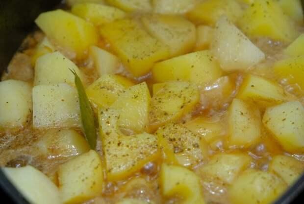 Нудли - Штрудли – Восхитительный обед из простых продуктов! картошка, мясо, тушенная картошка с мясом, что приготовить на обед