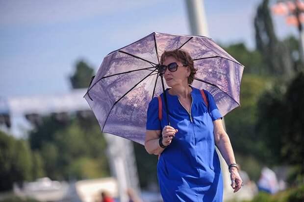 «Оранжевый» уровень погодной опасности из-за жары снова продлили в Москве