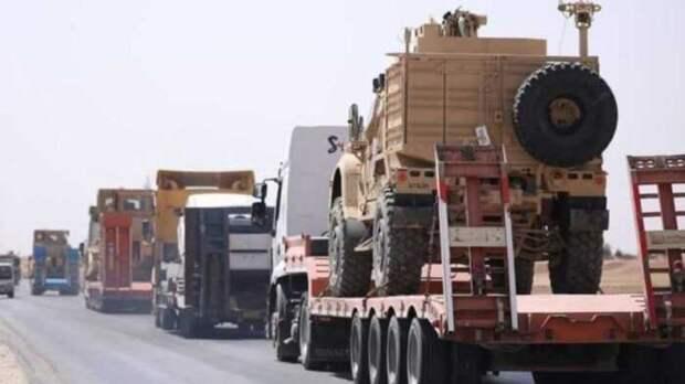 В Ираке на СВУ подорвался американский военный грузовик