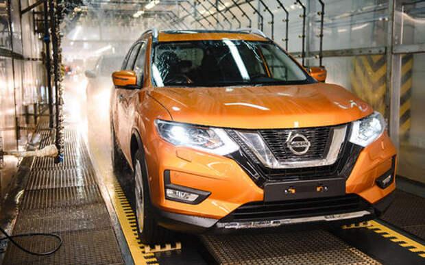 На заводе Nissan в Санкт-Петербурге начали выпускать обновленный X-Trail