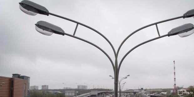 На Новокуркинском шоссе отремонтировали освещение