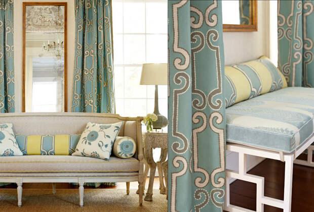 Как изменить интерьер квартиры, используя ткань