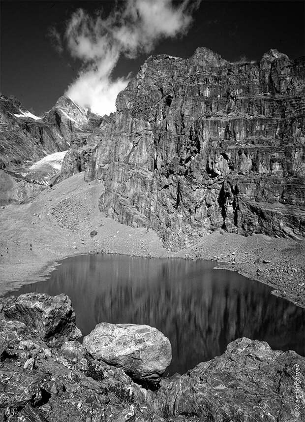 bnwmountains04 Черно белые фотографии гор