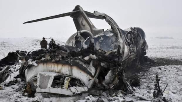 Упал Wi-Fi: что известно о падении военного самолета США в Афганистане