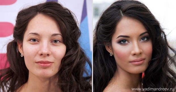 makeup16 Невероятно, но факт: визажист творит настоящие чудеса!