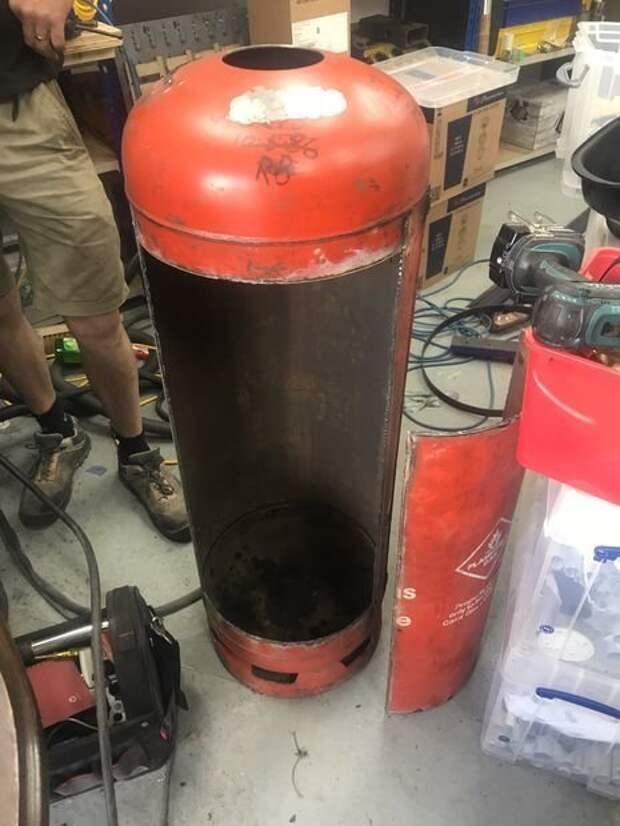 Своими руками: коптильня горячего копчения из газовых баллонов газовый баллон, коптильня, самоделка, своими руками, сделай сам, фото