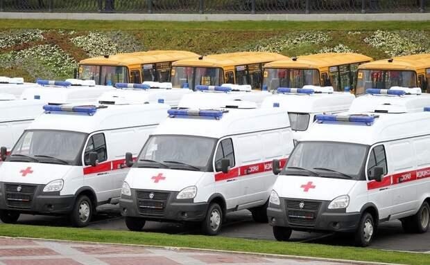 В Адыгею поставят новую партию автомобилей скорой помощи и школьных автобусов
