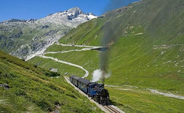 Chbahns51 Топ 5 самых необычных железных дорог Швейцарии