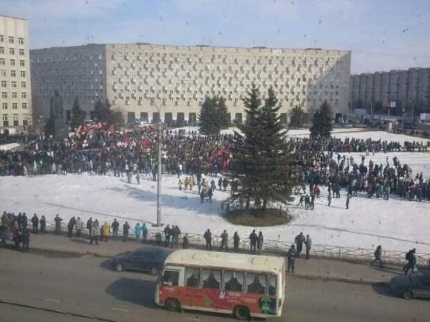 антимусорный митинг в Архангельской области(2019)|t.me/SilaPomorya, Сила Поморья