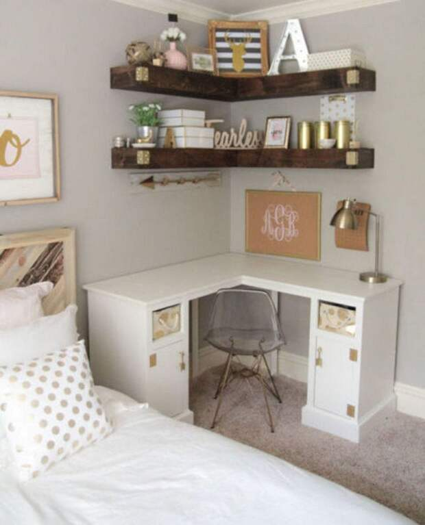 10 рациональных идей хранения вещей в небольшой спальне