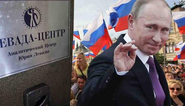 Путин победил: это признает даже Левада-центр!