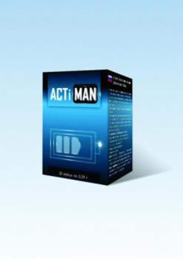 Новинка - эффективный препарат для мужской мочеполовой системы на основе натуральных компонентов - ACTIMAN.