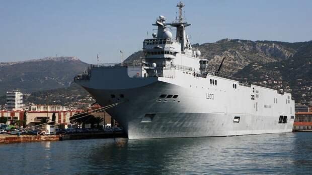 "NI: сделка России и Франции с ""Мистралями"" грозила для НАТО крупными неприятностями"