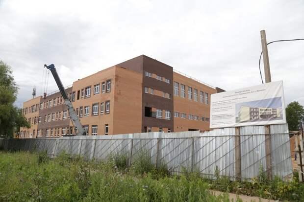Школу на улице Леваневского в Ижевске сдадут к Новому году