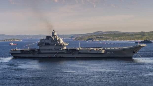 Авианосец «Адмирал Кузнецов» могут передать ВМФ РФ в 2023 году