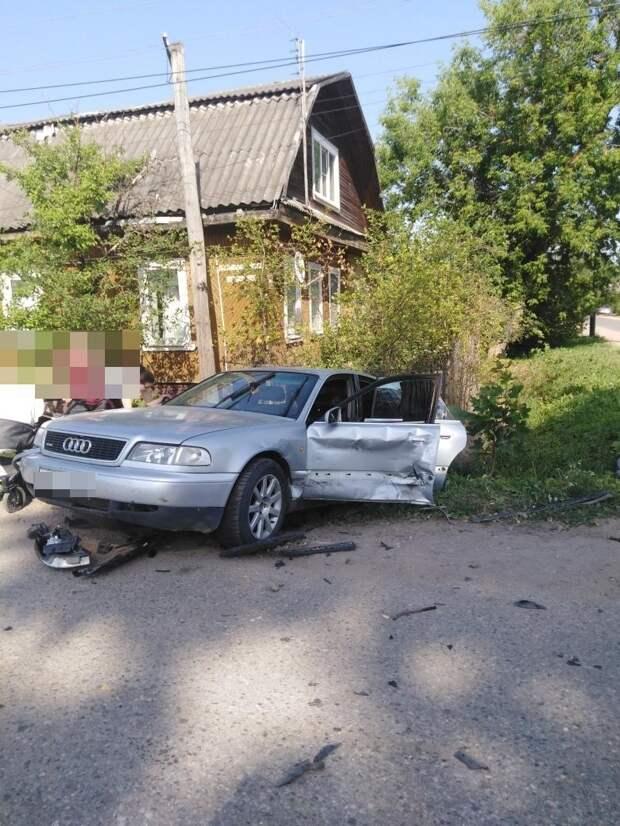 В Тверской области в аварии пострадал 6-месячный ребенок
