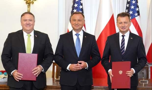 Варшава готова угодливо поддерживать любую инициативу Вашингтона