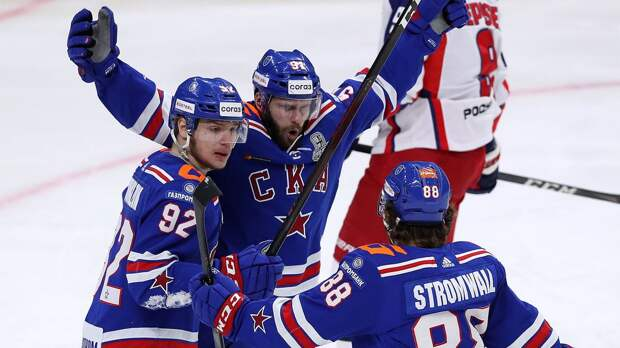СКА победил ЦСКА в 4-м матче полуфинала Кубка Гагарина