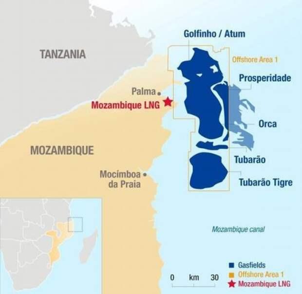 Total получила финансирование на свой проект СПГ в Мозамбике