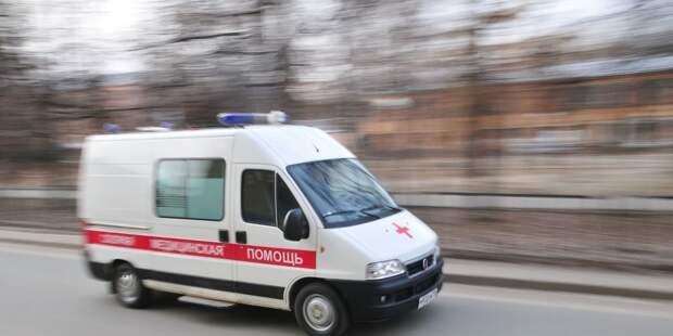 В Москве столкнулись несколько машин