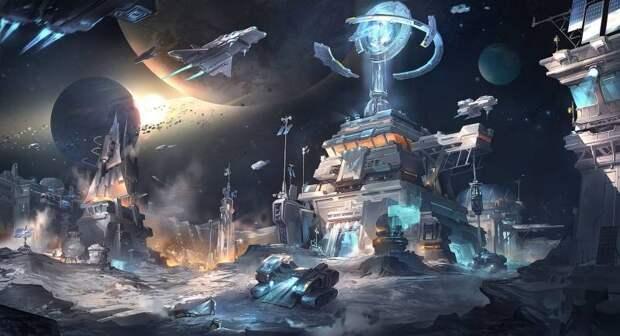 Космос как продолжение экспансии человечества