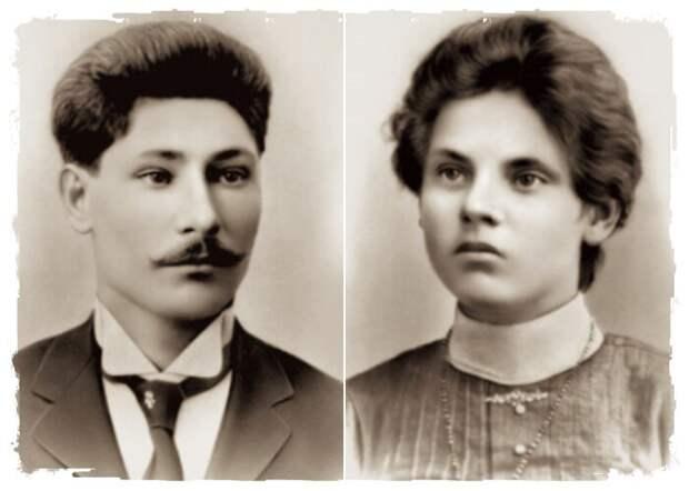 Наталья Денисовна и Илья Яковлевич - родители Брежнева