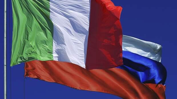 Итальянский политик заявил о выходе из ЕС, если антироссийские санкции не будут немедленно отменены