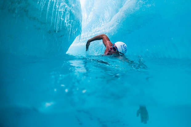 Рекордсмен мира по плаванию на выносливость Льюис Пью планирует совершить 15-дневный заплыв