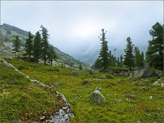 Ергаки. Шикарный поход в июне 2009, 1 часть