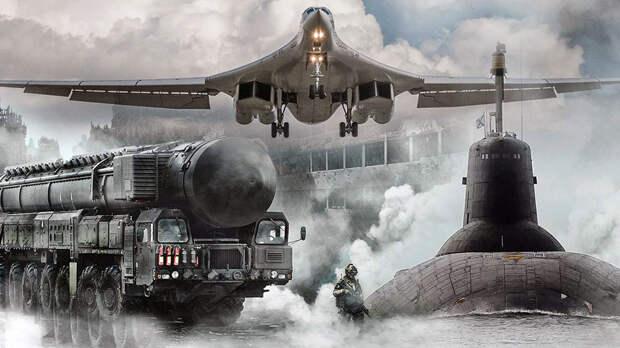 Вот на что способна Ядерная Триада России(Видео)