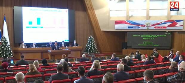 Минэкономразвития Крыма разработан прогноз социально-экономического развития региона на 2021 год