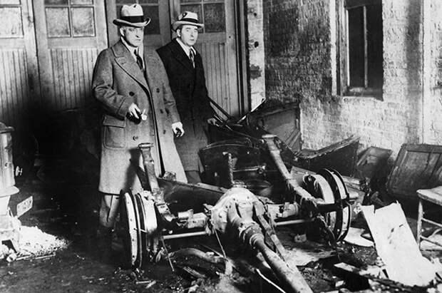 Последствия Побоища в День Святого Валентина, февраль 1929 года