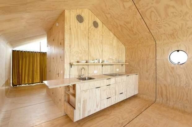 Картонный дом, который не боится холода и дождя и собирается за 1 день дом, сделай сам, факты