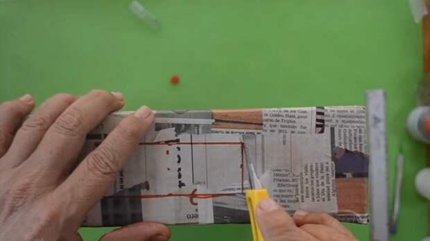 Удачная идея применения картонной коробки, которая обязательно пригодится вам