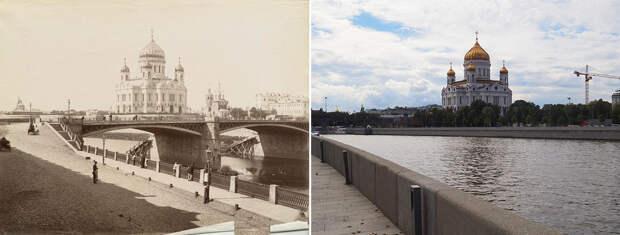 Было-стало: как изменилась Москва за полтора столетия (ФОТО)
