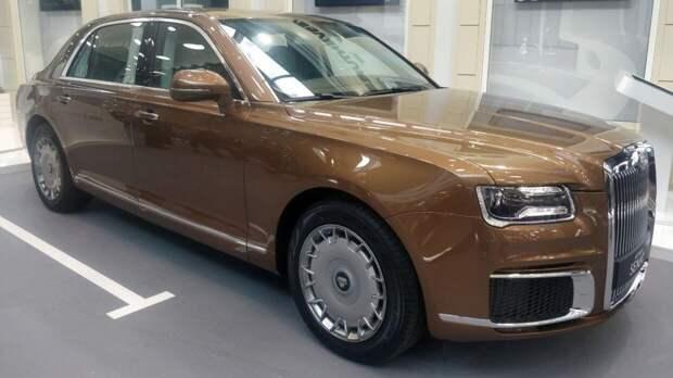 Серийное производство автомобилей Aurus начнется на заводе в Елабуге в мае